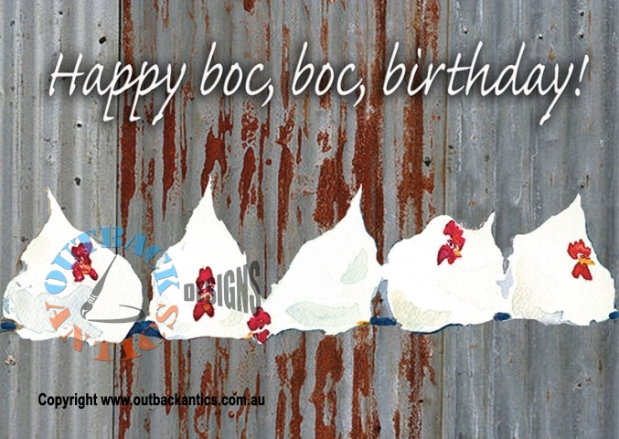 Happy Boc Boc Birthday 6Pack